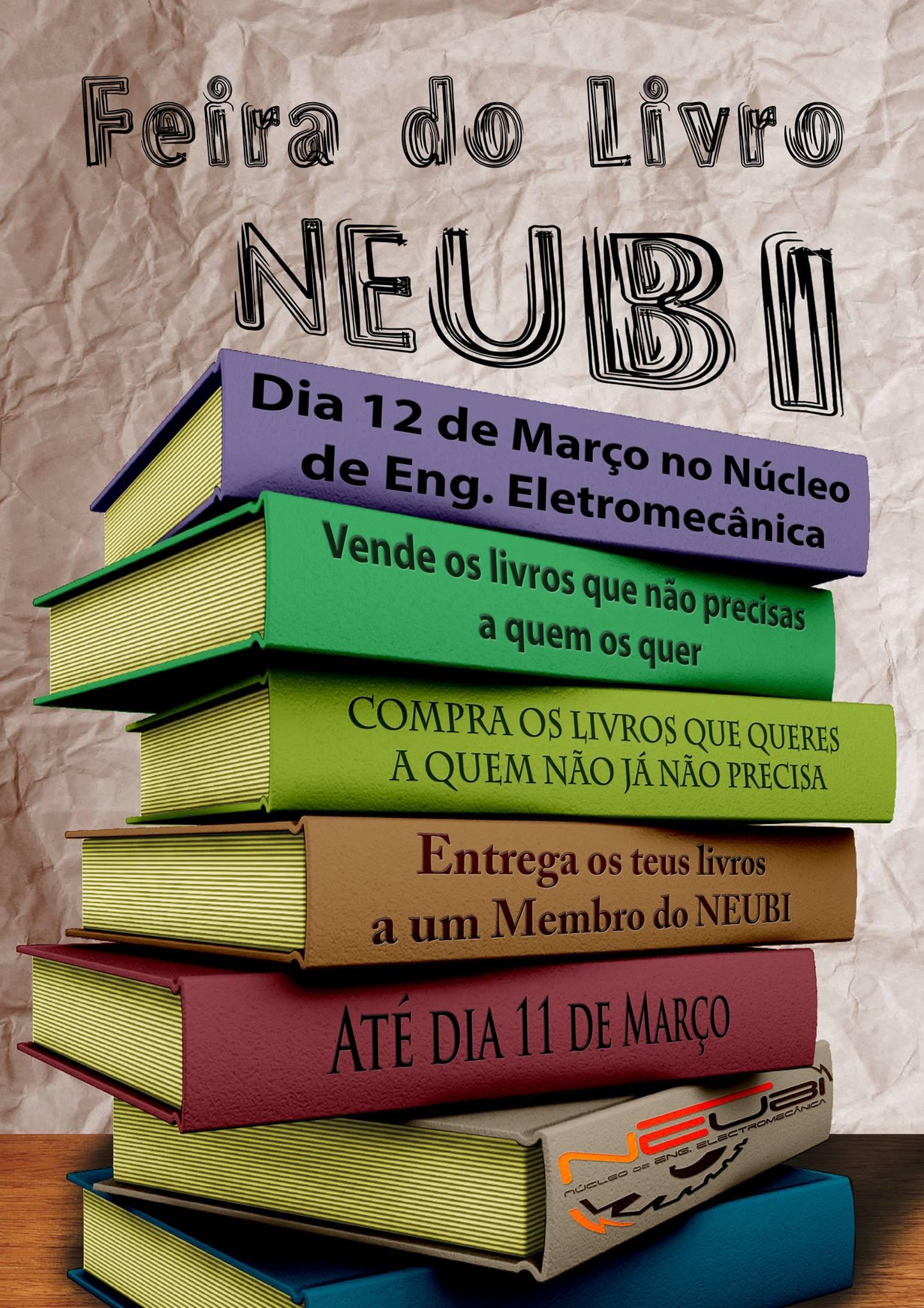 Cartaz Feira do Livro ELM